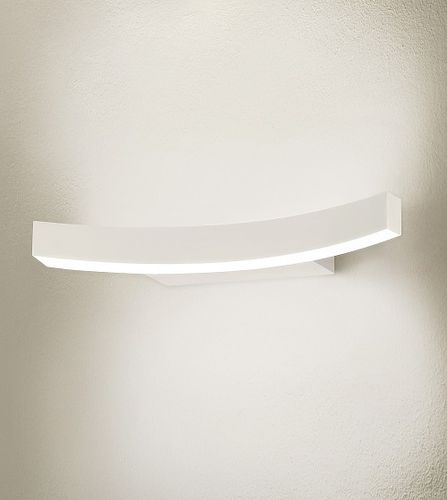 contemporary wall light / extruded aluminum / PMMA / LED
