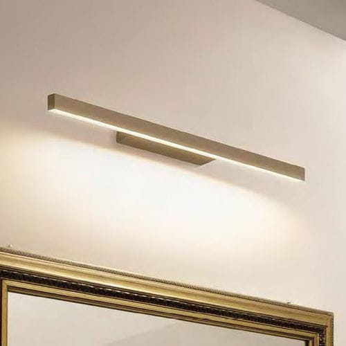 contemporary wall light / metal / PMMA / LED