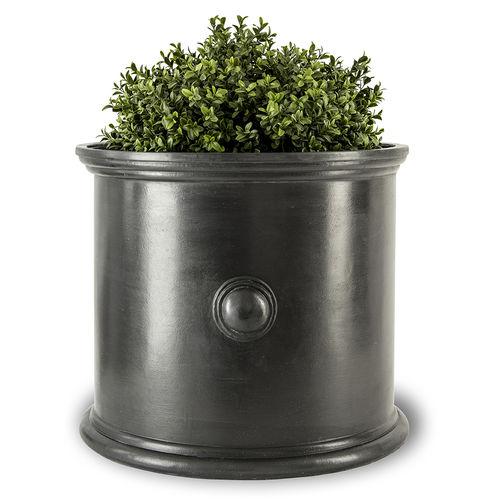 fiberglass planter / round / contemporary / for public spaces