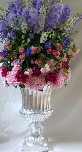 traditional vase / fiberglass