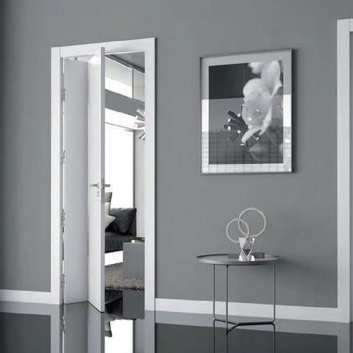 indoor door / swing / folding / wooden