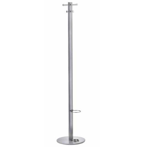 Floor coat rack / contemporary / stainless steel / commercial ASTA rosconi