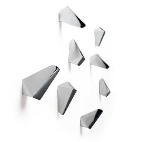 wall-mounted coat rack / contemporary / aluminum / commercial