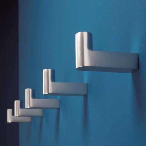 Contemporary coat hook / aluminum / multiple / commercial 1001 by Peter Bastian Architekten BDA rosconi