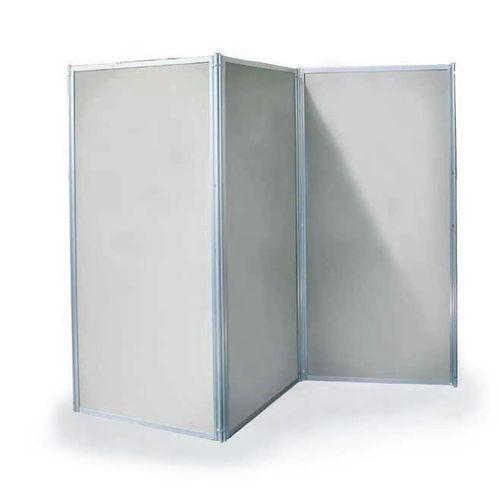 contemporary screen / metal / white