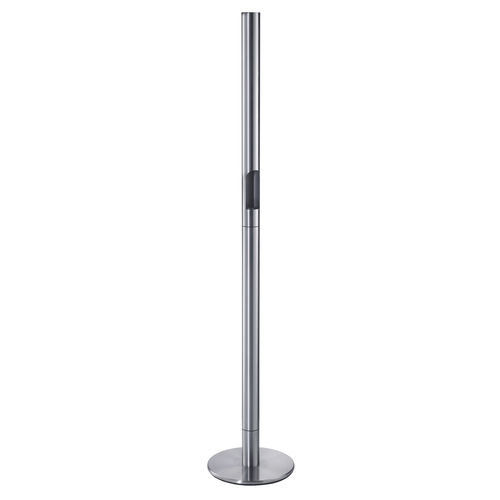 pedestal ashtray / stainless steel / for outdoor use / for public spaces