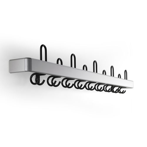 Wall-mounted coat rack / contemporary / metal / commercial CERTEZZA rosconi