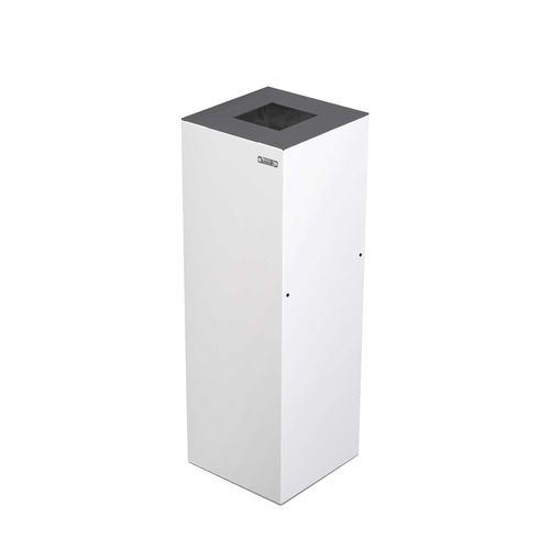 Steel trash can / contemporary / with built-in ashtray ALICANTE rosconi