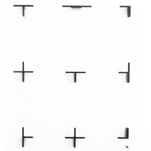 contemporary coat hook / aluminum / multi-person