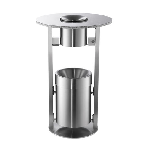 Bistro table with built-in ashtray / contemporary / metal / round R2D2 rosconi