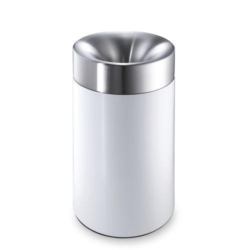 Public trash can / stainless steel / swing / contemporary CREW 3X rosconi