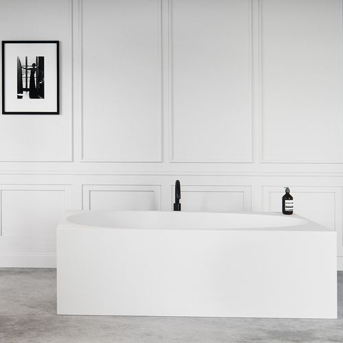 free-standing bathtub / Solid Surface / acrylic resin