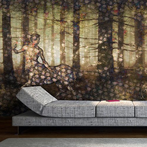 contemporary wallpaper / vinyl / floral pattern / nature pattern
