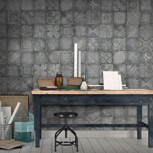 Contemporary wallpaper / vinyl / geometric pattern / plaid CERET Neodko