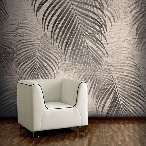 Contemporary wallpaper / vinyl / floral motif / nature pattern JUNGLE PALMS Neodko
