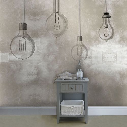 Industrial style wallpaper / vinyl / patterned / non-woven LUZ Neodko
