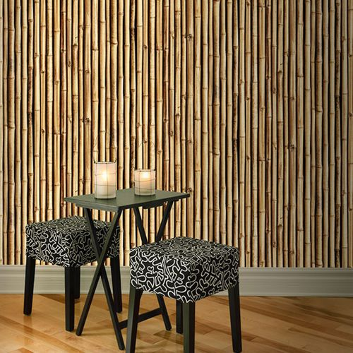 Contemporary wallpaper / vinyl / floral / nature pattern BAMBOO DEBOO Neodko