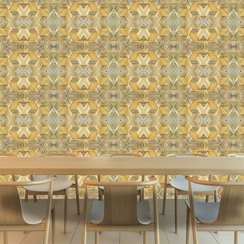 contemporary wallpaper / vinyl / floral motif / nature pattern
