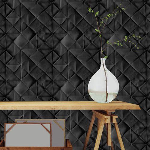 contemporary wallpaper / vinyl / geometric pattern / panoramic