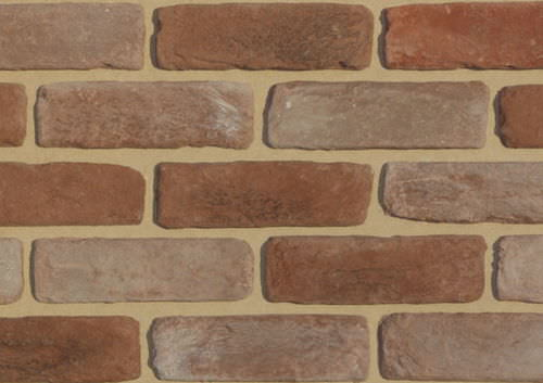 clay cladding brick / outdoor / for indoor use