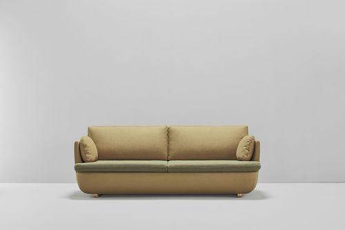contemporary sofa / fabric / 3-seater / multi-color