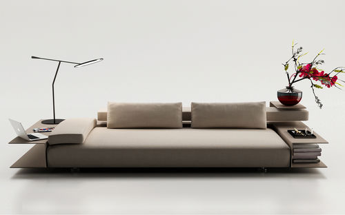 compact sofa / contemporary / fabric / by Christophe Pillet