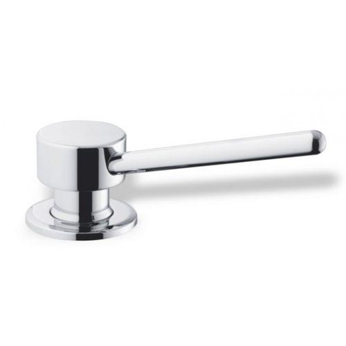 built-in soap dispenser / chrome / manual