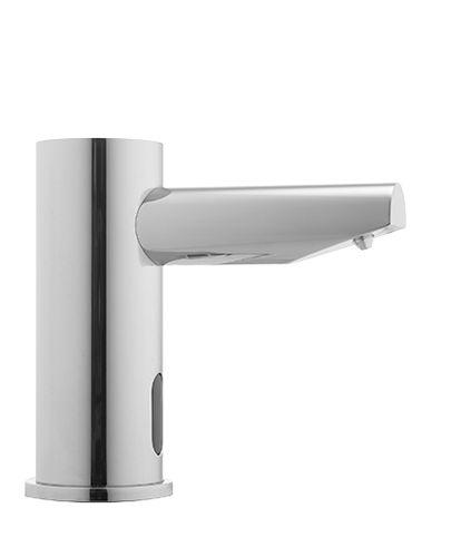 free-standing soap dispenser / chrome / electronic