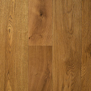 engineered parquet floor / glued / oak / natural oil