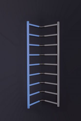 hot water radiator / metal / traditional / contemporary