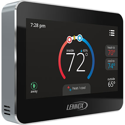 programmable thermostat / electronic / wall-mounted / for ventilation systems