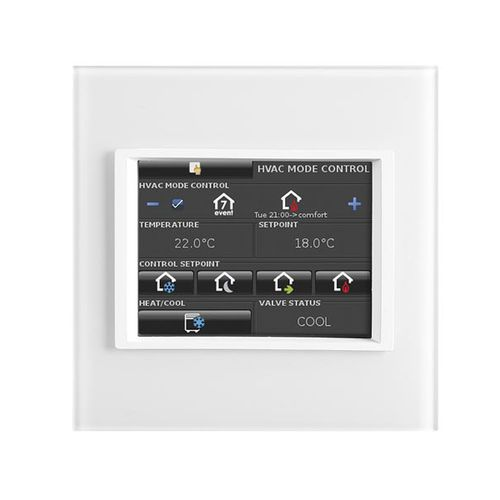 home automation system touch screen / wall-mounted / KNX