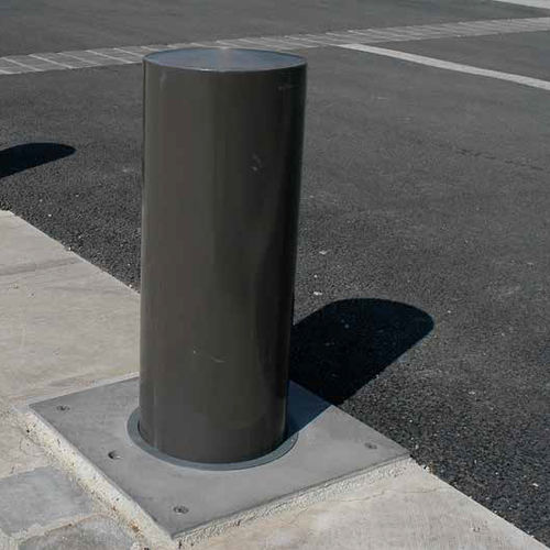 security bollard / aluminum / stainless steel