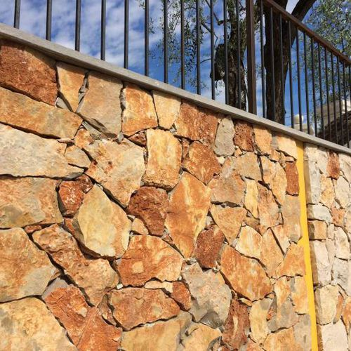 Stone wall cladding / exterior / decorative TERRA La Clé de Voûte Access