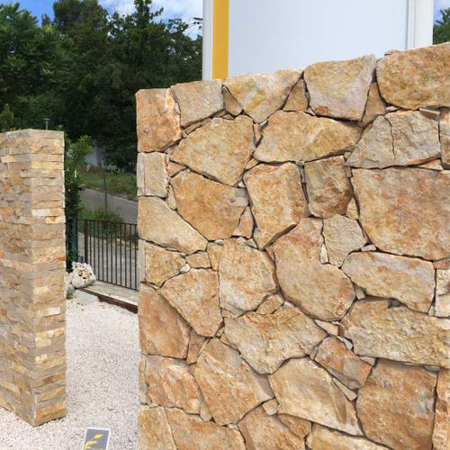 stone wall cladding / exterior / decorative
