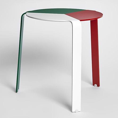 contemporary stool / metal