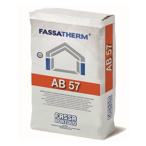 fixing adhesive mortar / for external thermal insulation / cement