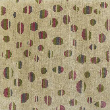 contemporary rug / patterned / silk / rectangular