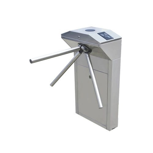 Tripod turnstile / for access control / stainless steel / for public spaces TS1000 ZKTeco