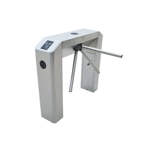 Tripod turnstile / for access control / stainless steel TS2000 ZKTeco