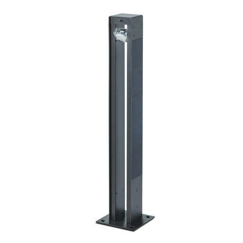 garden bollard light / urban / contemporary / metal