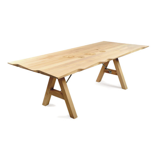 Scandinavian design table / oak / walnut / ash