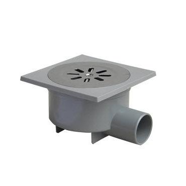 PVC Floor Drain / Round / Patio / Grated. CHL150C AIRGAMA SRL