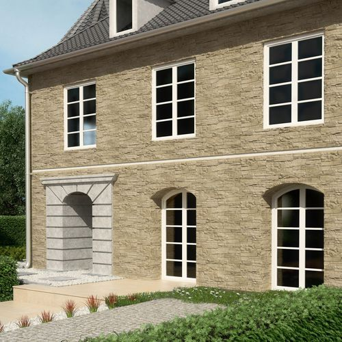 concrete wall cladding panel / gypsum / interior / exterior