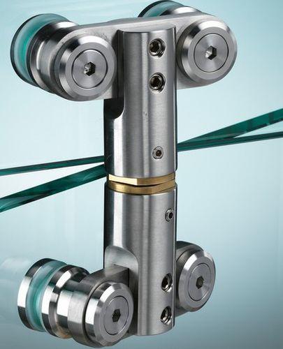 glass door hinge / metal