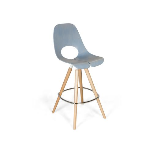 Contemporary bar stool / wooden / commercial TAUKO by Mac Stopa Nowy Styl Group