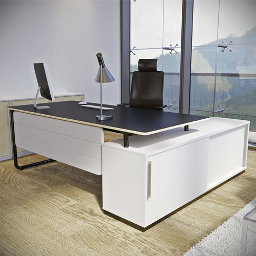 Executive desk / laminate / melamine / contemporary PLAY&WORK by WertelOberfell  Nowy Styl Group