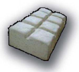 Paved drainage channel / street / high-performance concrete / sloped CS1 EMPREINTE ASPECT VIEILLE PIERRE Replik