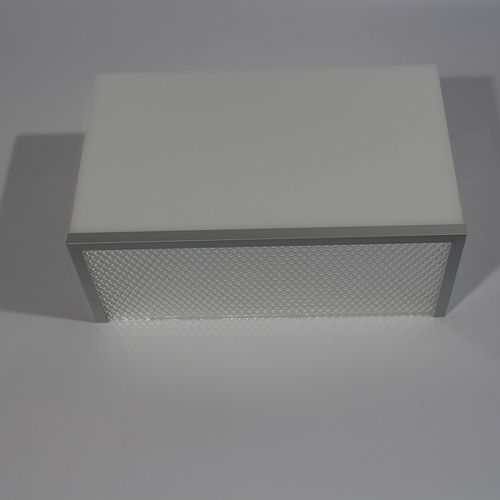 contemporary wall light / aluminum / fabric / Plexiglas®