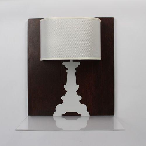 contemporary wall light / fabric / wooden / Plexiglas®